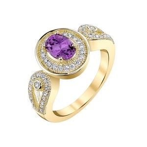 Jewelry - Amethyst and Topaz Ring